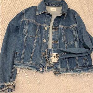 Hudson M jean jacket